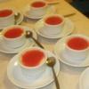 קרם בורלה עם קולי תות